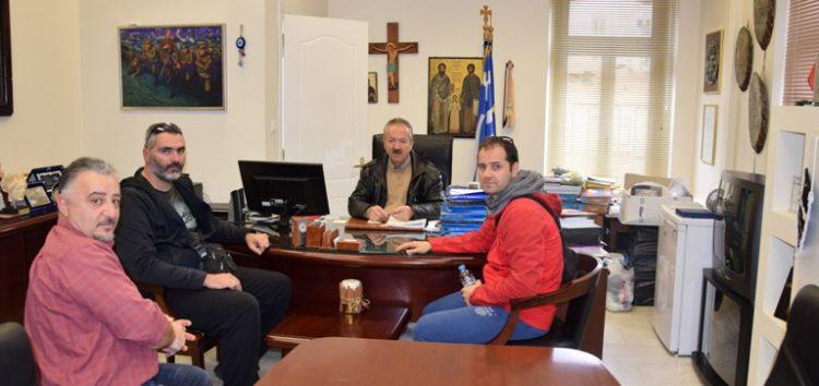 Συνάντηση του δημάρχου Φλώρινας με το Δ.Σ. του «Παγκράτιον»