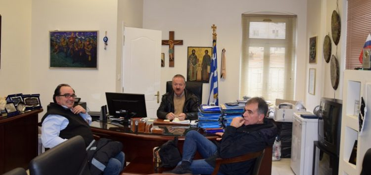 Συνάντηση του δημάρχου Φλώρινας με το προεδρείο της ΕΛΜΕ
