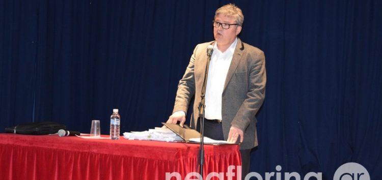 Η ομιλία του Δημήτρη Νατσιού για το νέο βιβλίο των Θρησκευτικών (video, pics)