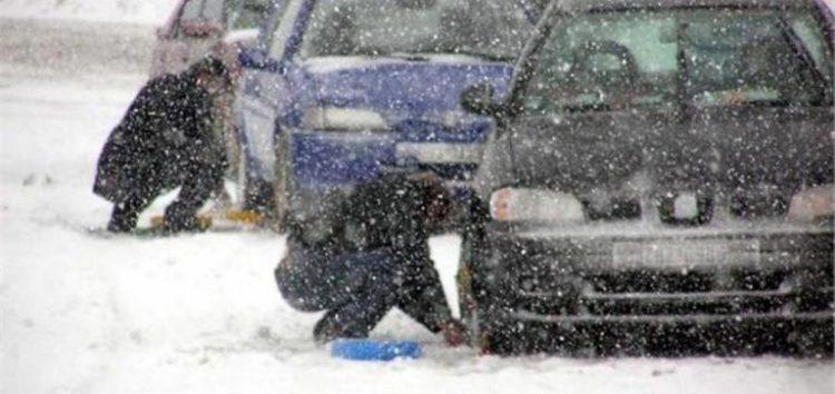 Πολλά προβλήματα στο οδικό δίκτυο της Δυτικής Μακεδονίας εξαιτίας της χιονόπτωσης