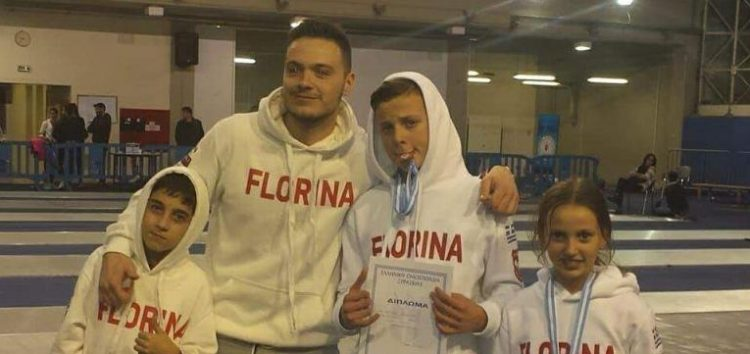 Χάλκινο μετάλλιο για Άγγελο και Νεφέλη Ρασπόπτση στο Πανελλήνιο Κύπελλο