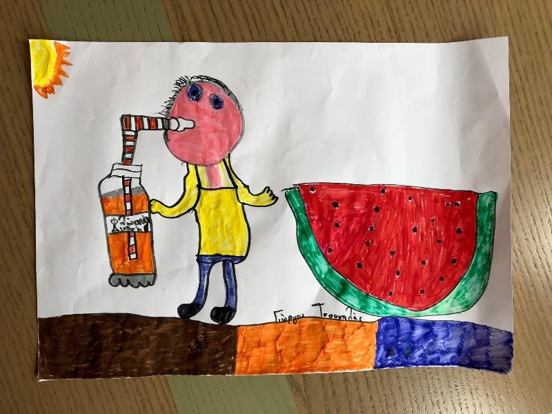 Γιώργος Τσουκαλάς 7 ετών