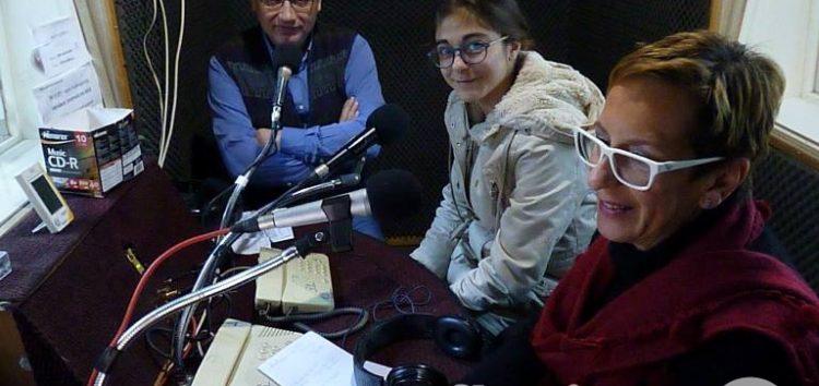Γιώργος Λυγούρας και Χρυσή Φωτιάδου μιλούν στην ΕΡΤ Φλώρινας για τις Σάρισες και το πινγκ πονγκ (video, pics)