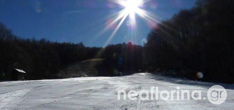 Τέθηκε σε λειτουργία ο παιδικός αναβατήρας του Χιονοδρομικού Κέντρου Βίγλας – Πισοδερίου (video, pics)
