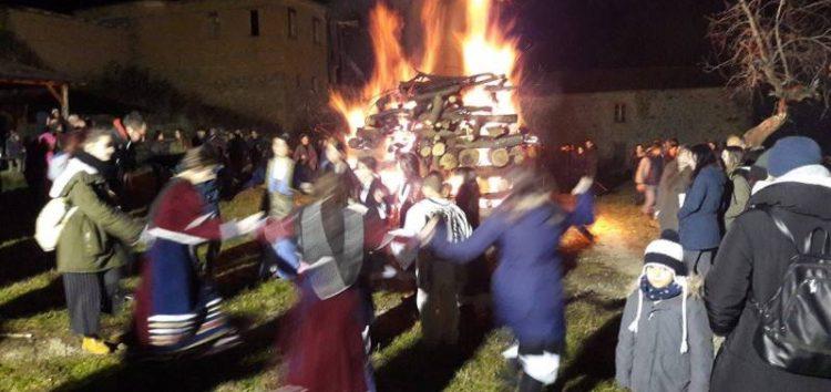 Φωτιές στο δήμο Πρεσπών (pics)