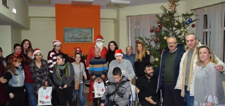 Ο δήμαρχος Φλώρινας στη χριστουγεννιάτικη γιορτή του ΚΔΑΠ ΜΕΑ (video, pics)
