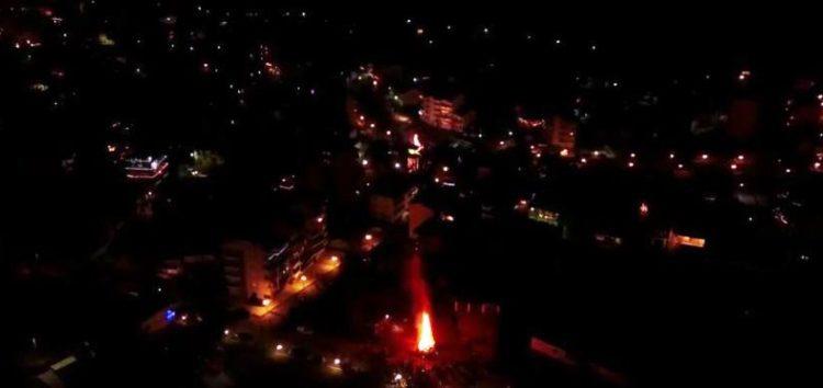 Οι Φωτιές της Φλώρινας από ψηλά (drone video)
