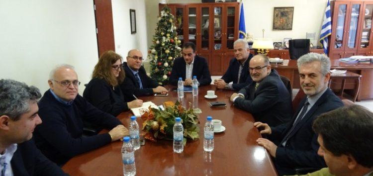 Συνάντηση Περιφερειάρχη με ΙΜΕ ΓΣΕΒΕΕ –  Στο επίκεντρο η στήριξη των μικρομεσαίων επιχειρήσεων  της Δυτικής Μακεδονίας