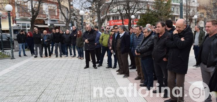 Η απεργιακή συγκέντρωση του Εργατικού Κέντρου Φλώρινας (video, pics)