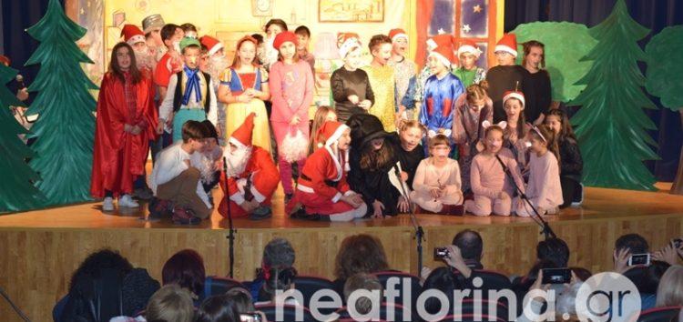 «Ο Άγιος Βασίλης… κόκαλο» από μαθητές και μαθήτριες των 2ου και 3ου δημοτικών σχολείων Φλώρινας (video, pics)