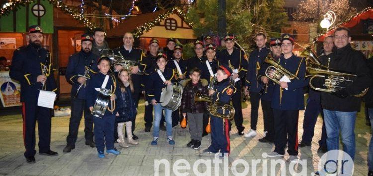 Γιορτινές μελωδίες από τη Φιλαρμονική του δήμου Φλώρινας (video, pics)