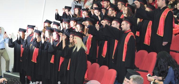 Ορκωμοσία αποφοίτων του ΤΕΙ στη Φλώρινα (video, pics)