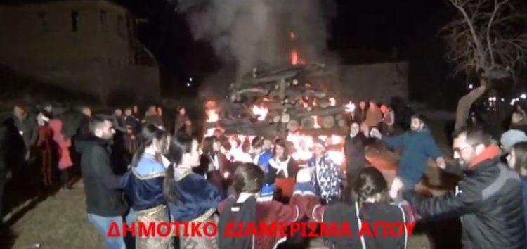 Χριστουγεννιάτικες εκδηλώσεις στο δήμο Πρεσπών (video)