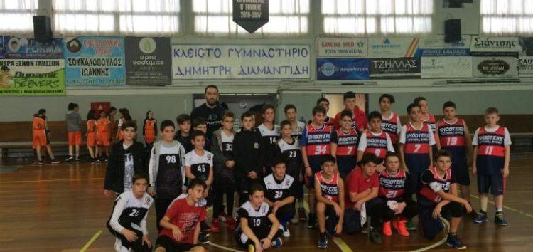 Διήμερο τουρνουά μπάσκετ αναπτυξιακών ηλικιών από την ακαδημία Shooters