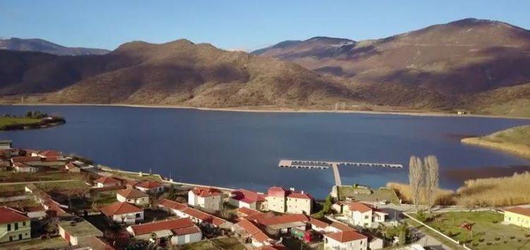 Η λίμνη Ζάζαρη από ψηλά (video)