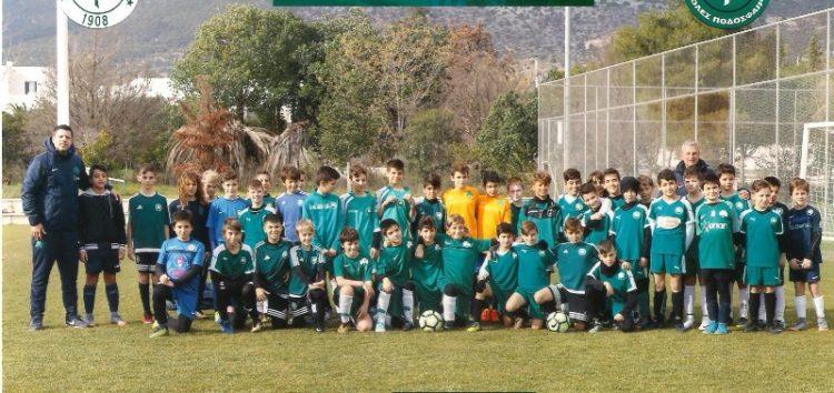 Αξιολόγηση αθλητών Σχολών Ποδοσφαίρου Παναθηναϊκού