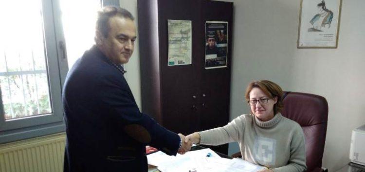 Επίσκεψη του βουλευτή Γιάννη Αντωνιάδη στην Εφορεία Αρχαιοτήτων Φλώρινας