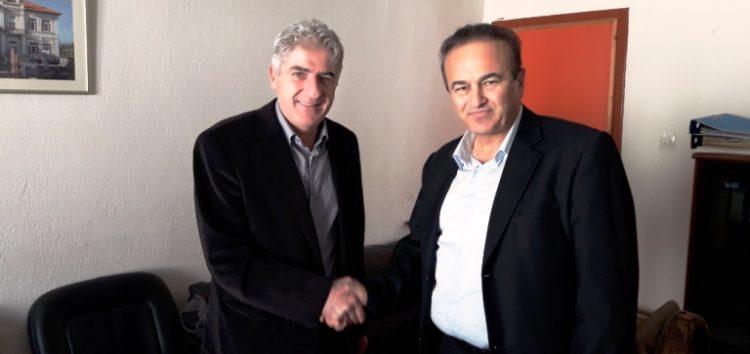 Συνάντηση του βουλευτή Γιάννη Αντωνιάδη με τον διοικητή του νοσοκομείου Φλώρινας