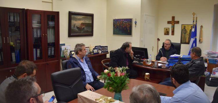Συνάντηση του δημάρχου Φλώρινας με αντιπροσωπεία του νέου Δ.Σ. του ΕΒΕ Φλώρινας (pics)