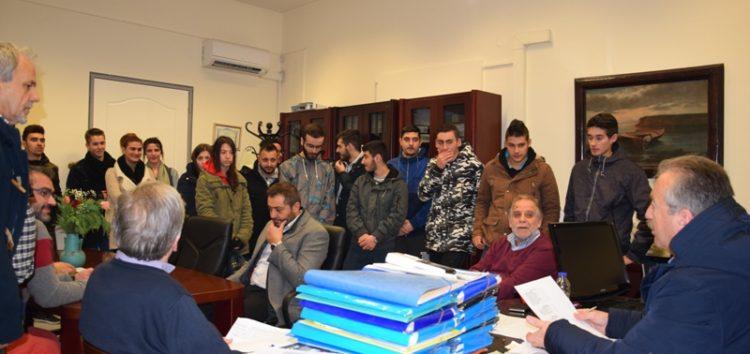 Ξεκίνησαν πρακτική άσκηση στο δήμο Φλώρινας μαθητές της ΕΠΑΣ Μαθητείας του ΟΑΕΔ