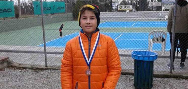 Μετάλλιο για τον Αχιλλέα Παπαθανασίου και την ομάδα τένις της Λέσχης Πολιτισμού Φλώρινας
