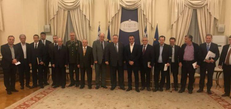 Διυπουργική σύσκεψη με αντικείμενο την προετοιμασία για το άνοιγμα της διασυνοριακής διάβασης των Πρεσπών (pics)