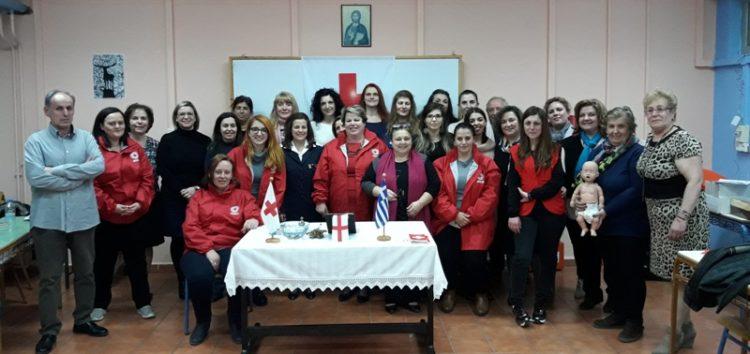 Αγιασμός της νέας εκπαιδευτικής σειράς Εθελοντών Νοσηλευτικής του Ερυθρού Σταυρού στο Αμύνταιο (pics)