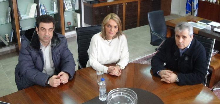 Συνάντηση του αντιπεριφερειάρχη Φλώρινας με τη Γ.Γ. Δημόσιας Περιουσίας Πέτη Πέρκα