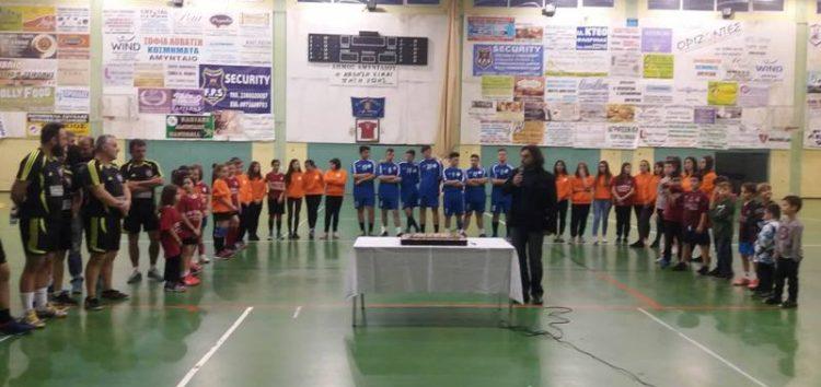 Κοπή βασιλόπιτας από τα τμήματα handball του συλλόγου «Ελπίδες» Αμυνταίου (pics)