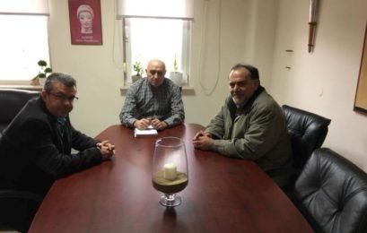Συνάντηση μελών του Επιμελητηρίου Φλώρινας με τον περιφερειακό διευθυντής Εκπαίδευσης