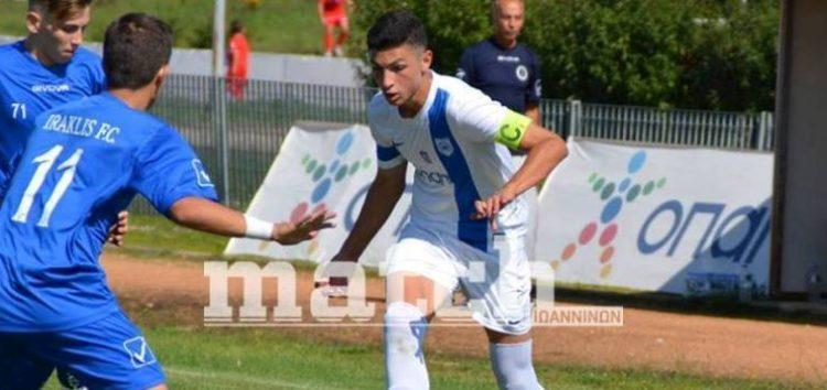 Επαγγελματικό συμβόλαιο στον ΠΑΣ Γιάννενα υπέγραψε ο 17χρονος Φλωρινιώτης Άγγελος Λιάσος