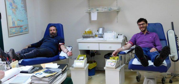 Εθελοντική αιμοδοσία από το Εκκλησιαστικό Γυμνάσιο – Λύκειο Φλώρινας (pics)