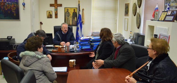 Συνάντηση του δημάρχου Φλώρινας με μέλη των Συλλόγων Καρκινοπαθών Αμυνταίου και Εορδαίας (pics)