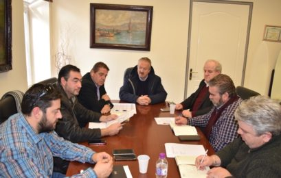 Συνάντηση εργασίας στο δημαρχείο Φλώρινας για θέματα ΕΣΠΑ (pics)