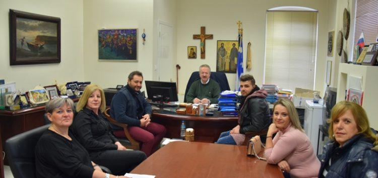Συνάντηση του δημάρχου Φλώρινας με το Δ.Σ. του Πολιτιστικού Συλλόγου «Νέοι Ορίζοντες Σιταριάς»