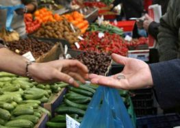 Δραστηριοποίηση 50% παραγωγών πωλητών λαϊκής αγοράς του δήμου Φλώρινας το Σάββατο 17-04-2021