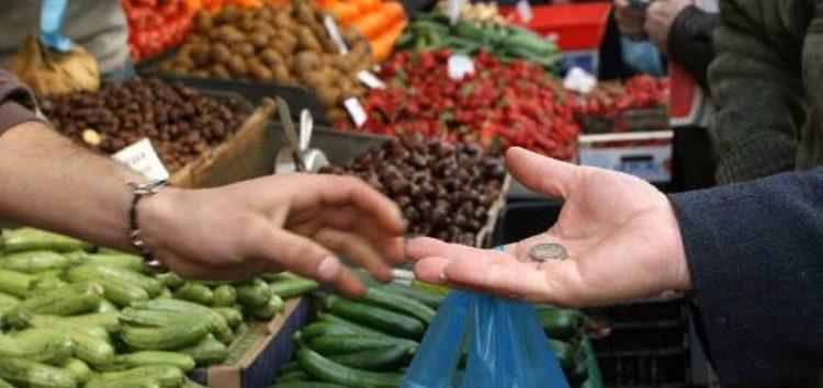 Εκ περιτροπής δραστηριοποίηση των πωλητών (παραγωγών και επαγγελματιών διατροφικών προϊόντων) στην λαϊκή αγορά του Δήμου Αμυνταίου