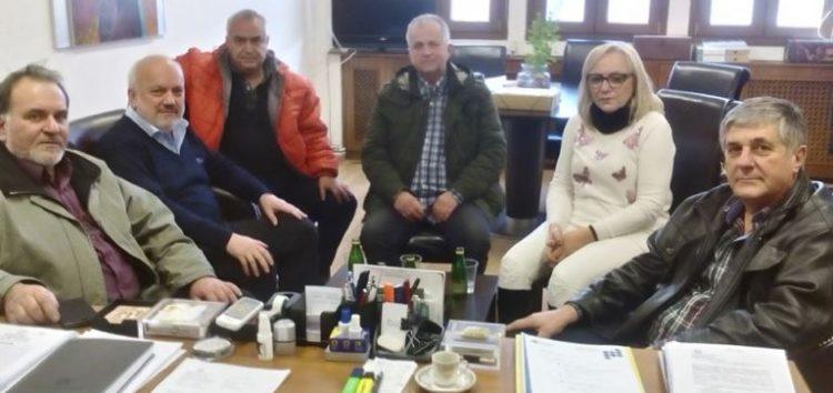 Το νέο Δ.Σ. του ΕΒΕ Φλώρινας επισκέφτηκε τον δήμαρχο Αμυνταίου