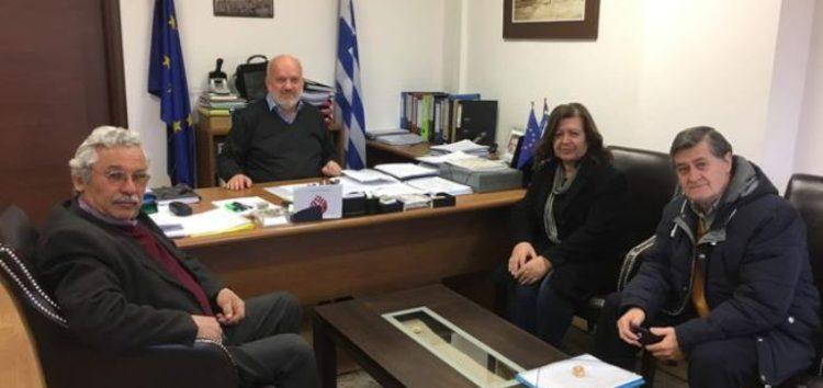 Επίσκεψη του Συλλόγου Καρκινοπαθών Εορδαίας στον δήμαρχο Αμυνταίου
