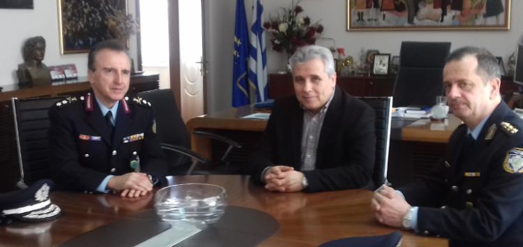 Επίσκεψη του Γενικού Περιφερειακού Αστυνομικού Διευθυντή Δυτικής Μακεδονίας στον Αντιπεριφερειάρχη Φλώρινας