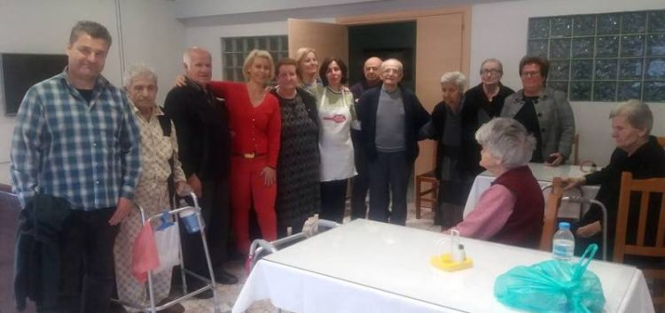 Η Ιωάννα Βλάχου διασκέδασε τους ηλικιωμένους στο Γηροκομείο Φλώρινας (pics)