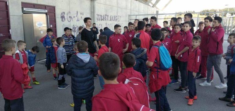 Στο ΑΕΛ FC Arena η Ακαδημία του ΠΑΣ Φλώρινα