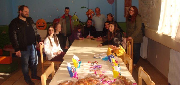 Επίσκεψη μαθητών της ΕΠΑΣ ΟΑΕΔ στο Ειδικό Δημοτικό Σχολείο (pics)