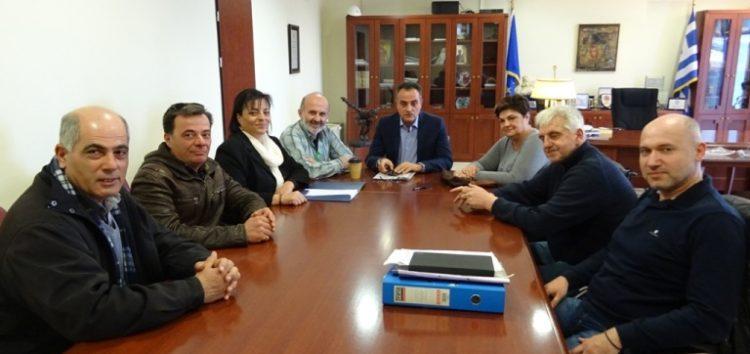Οι εκπρόσωποι του Αγροτικού Συνεταιρισμού Αμυνταίου επισκέφθηκαν τον Περιφερειάρχη Θ. Καρυπίδη (video)