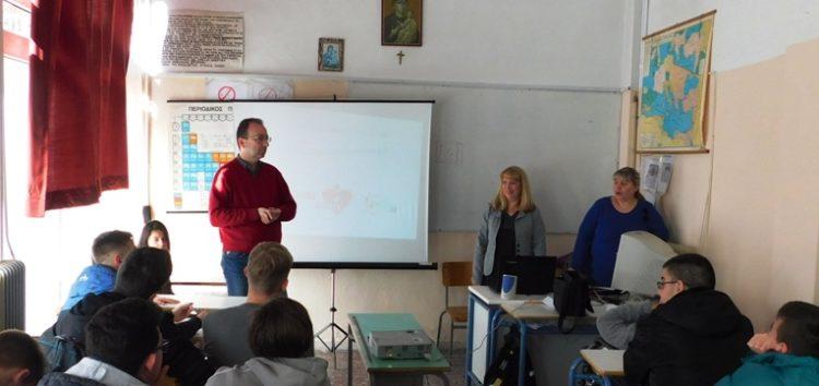 Εκδήλωση ενημέρωσης για την προαγωγή της εθελοντικής αιμοδοσίας στο Εκκλησιαστικό Γυμνάσιο – Λύκειο Φλώρινας (video, pics)