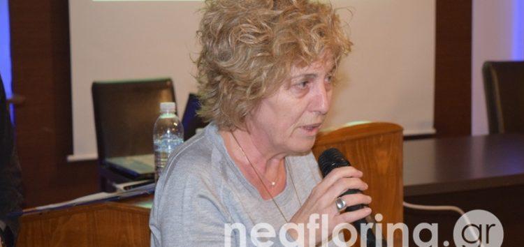 Αποχαιρετιστήρια συνάντηση της Ένωσης Φιλολόγων Φλώρινας προς τιμήν της Άννας Πολατίδου