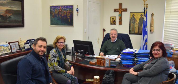 Συνάντηση του δημάρχου Φλώρινας με το προεδρείο του Συλλόγου Κιουταχειωτών και Μικρασιατών Φλώρινας