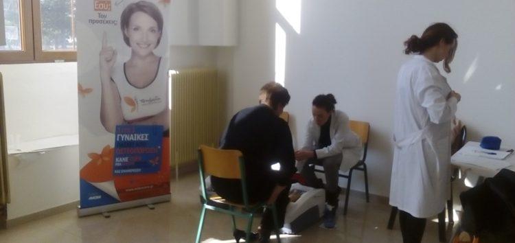 Επιτυχημένη η εκδήλωση προληπτικού ελέγχου και ενημέρωσης για την οστεοπόρωση στο Αμύνταιο (pics)