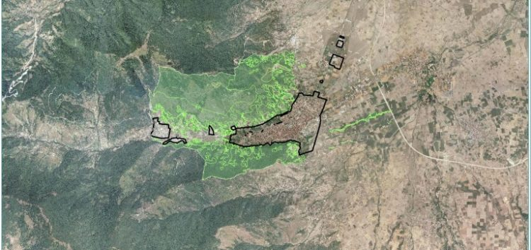 Κυρώθηκε μερικώς ο δασικός χάρτης της Δημοτικής Κοινότητας Φλώρινας