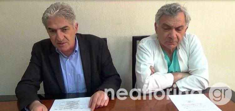 Γιώργος Χιωτίδης: Με τις νέες θέσεις ιατρών καλύπτονται σημαντικά κενά στο νοσοκομείο Φλώρινας (video)